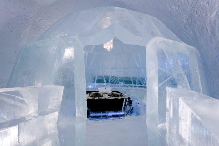 ice hotel 瑞典冰旅馆