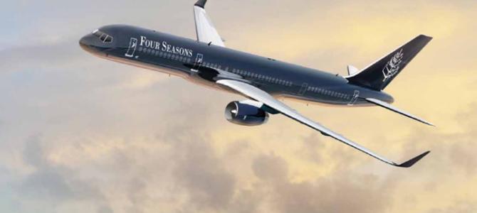 2018四季酒店私人飛機豪華團 USD135,000 起