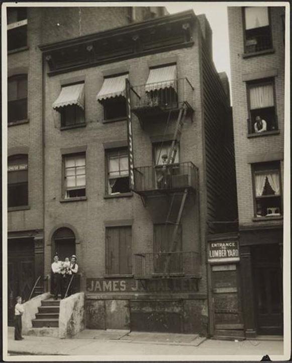 107 Mott Street, 1932