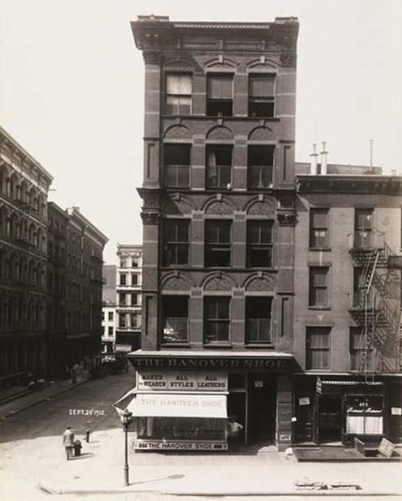 Broadway and Howard Street, 1912