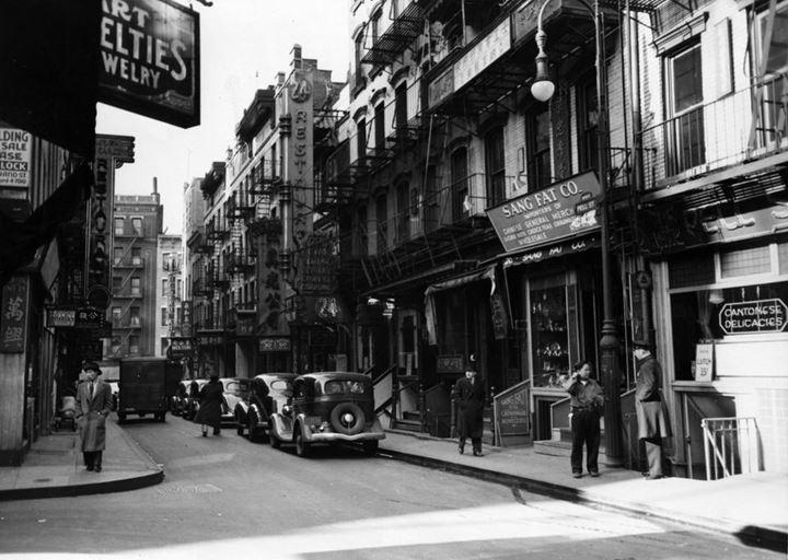 Chinatown, 1940s