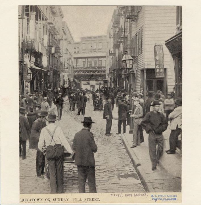 Pell Street, 1899