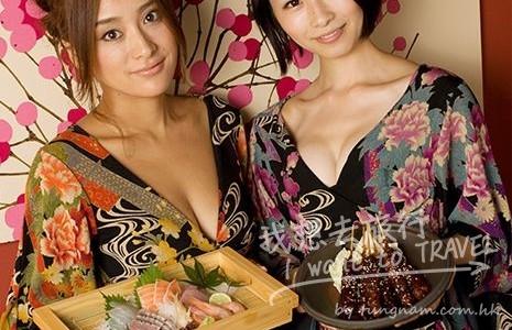 [18+]日本居酒屋竟請爆乳女服務生