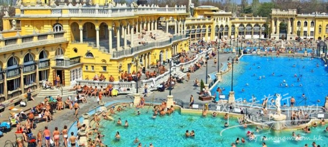 匈牙利男女溫泉浴場