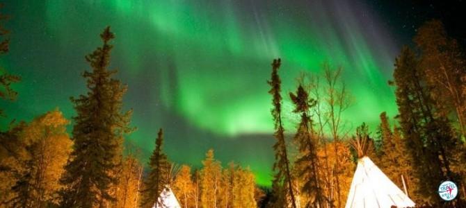 黄刀鎮北極光, 世界上最多極光出現嘅地方