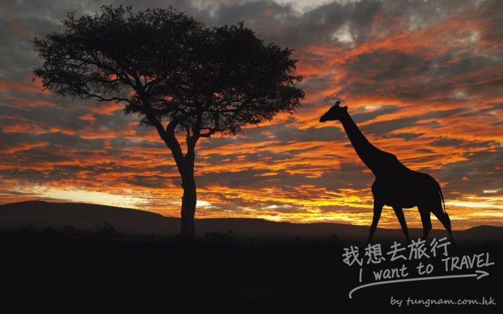 kenya sunrise
