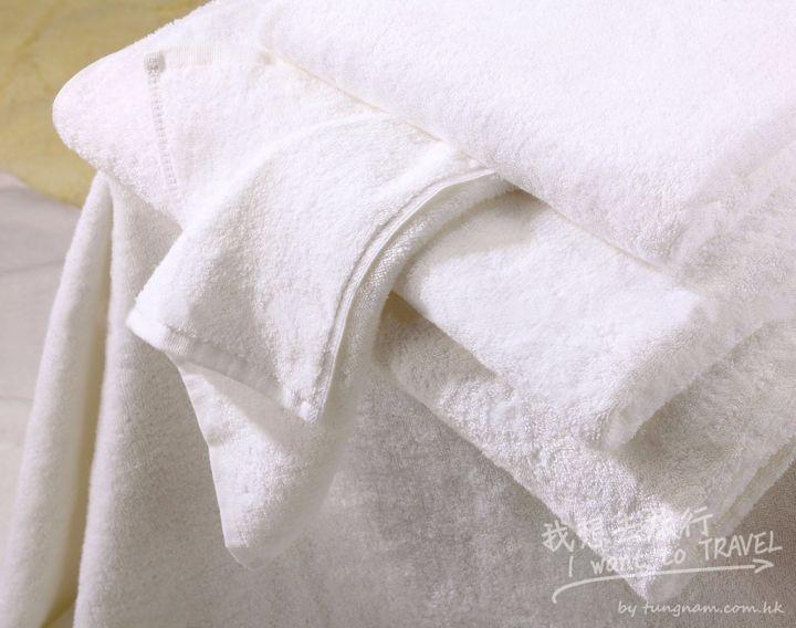 枕頭套、被單和毛巾