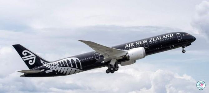 [快閃48hours]紐西蘭航空直航紐西蘭經濟艙$3,7XX