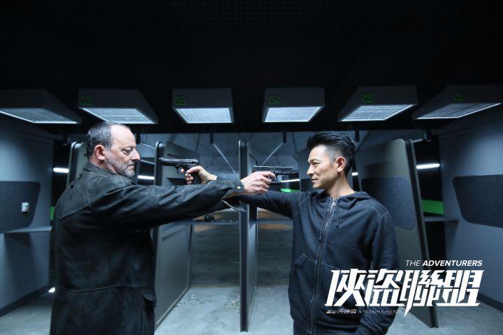 张丹和皮埃尔相识多年的警匪狭路相逢 - 复件(1)